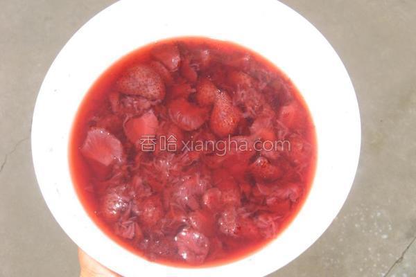 草莓羹的做法