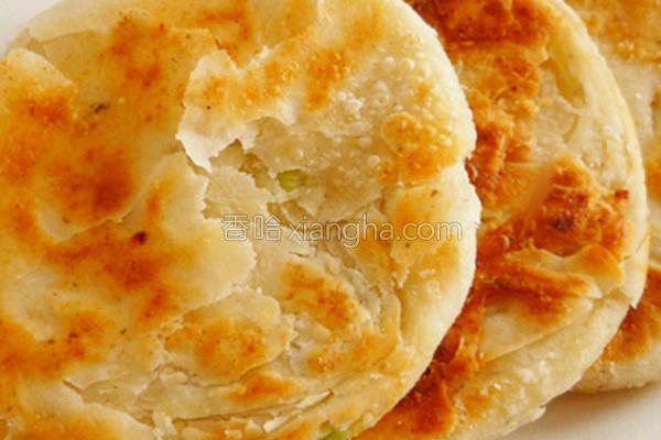 葱香豆渣酥饼的做法