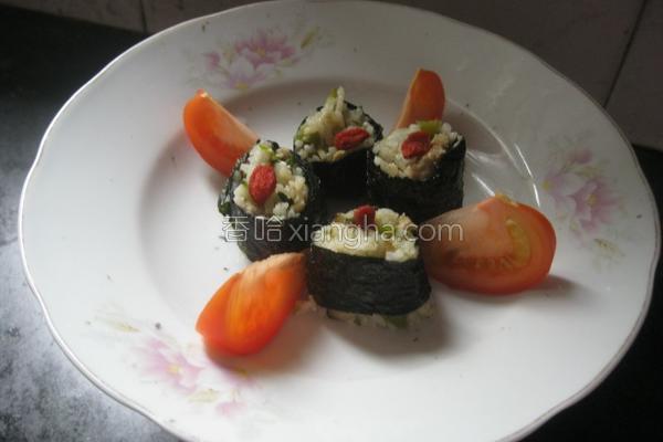 海苔包饭的做法