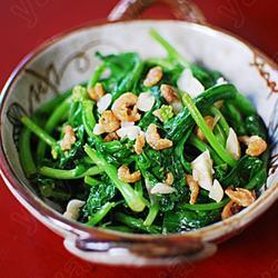 海米油菜苔的做法[图]