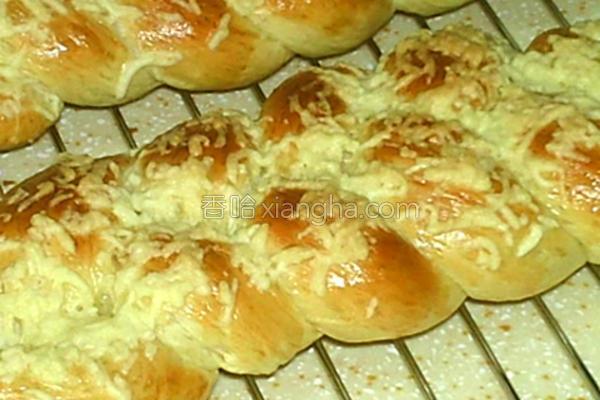 鲜奶油面包的做法