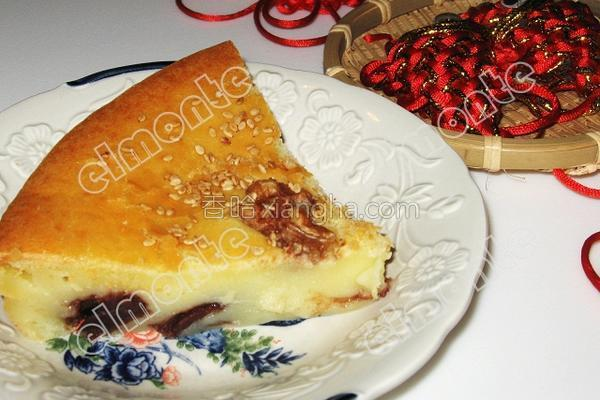 椰香烤年糕的做法