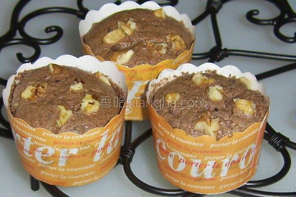 核桃巧克力戚风蛋糕的做法