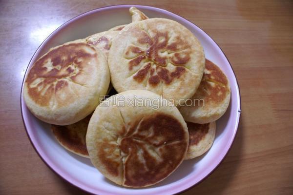 玉米麻蓉饼的做法