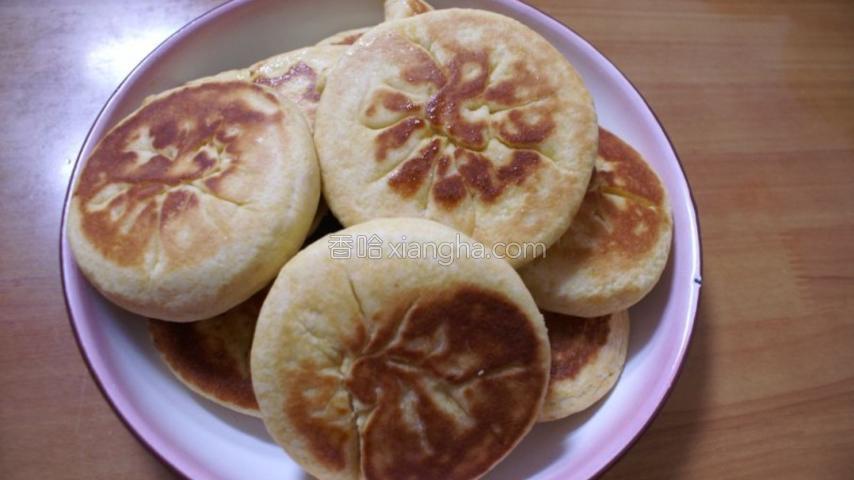 玉米麻蓉饼
