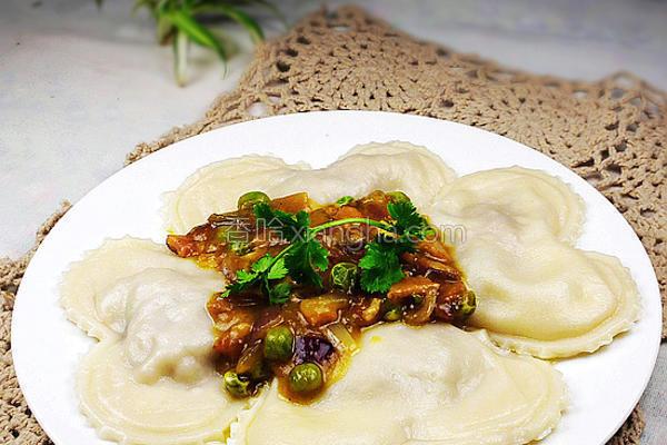 意大利咖喱饺子的做法