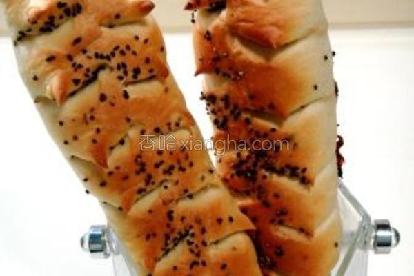 麦穗培根面包的做法