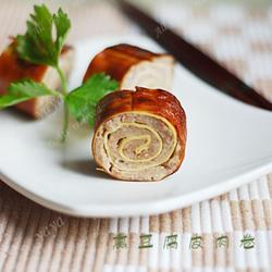 熏豆腐皮肉卷的做法[圖]