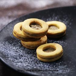 煉乳蜂蜜夾心餅干的做法[圖]