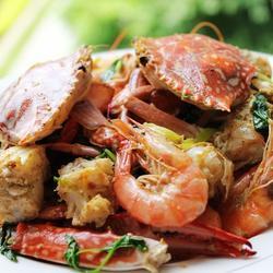 椒鹽蝦蟹的做法[圖]