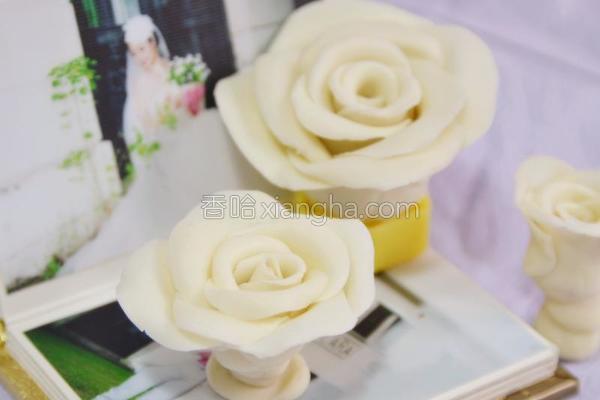 巧克力玫瑰花的做法