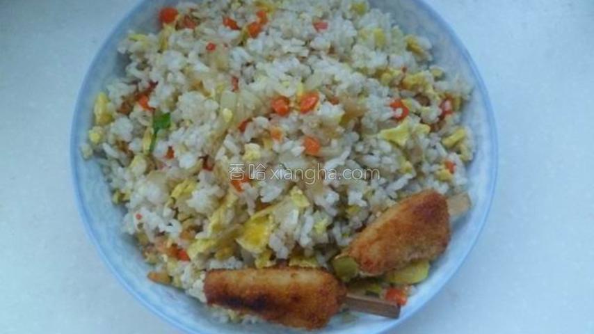 炒寿司米饭