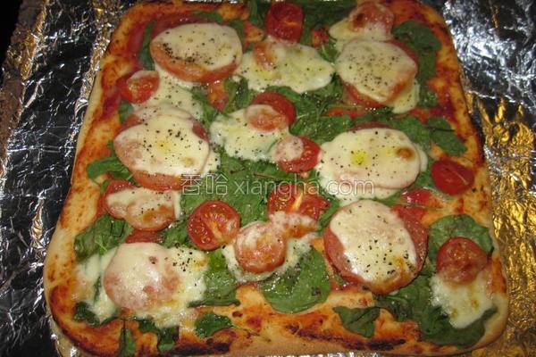 原味披萨的做法