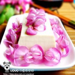 槐花豆腐的做法[图]