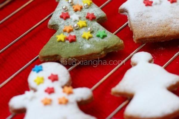 圣诞节小饼干的做法