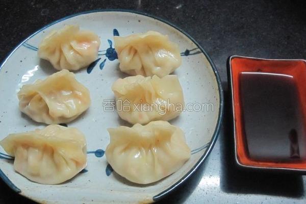 蔬菜饺子的做法