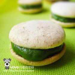 绿茶夹心榛子饼干的做法[图]