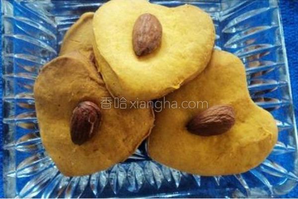 烤杏仁南瓜饼干的做法