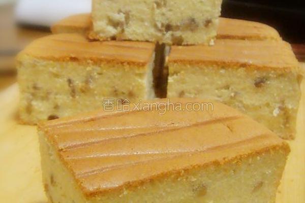 坚果蛋糕的做法