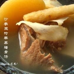 沙参玉竹苹果猪骨汤的做法[图]