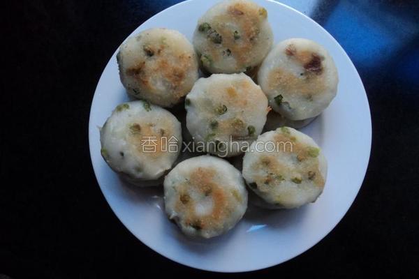 碗豆米饼的做法