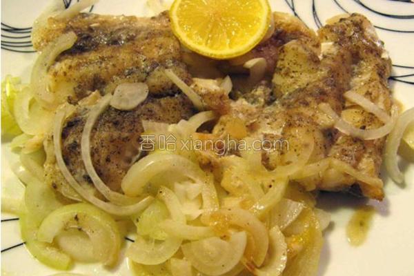 香烤三文鱼之简易法的做法