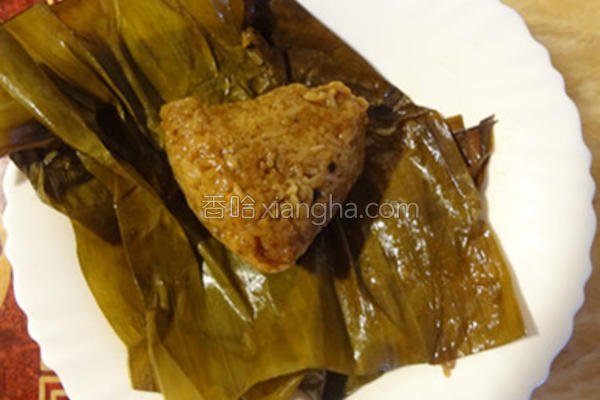 香菇肉粽的做法
