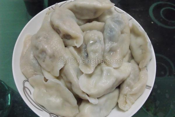 皮蛋鲜肉水饺的做法