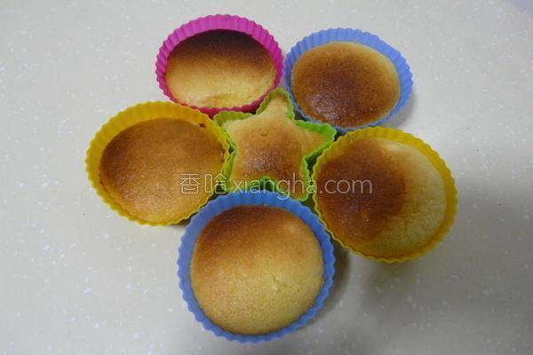 蜂蜜小碗蛋糕的做法