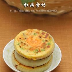 雞蛋牛奶蔬菜餅的做法[圖]