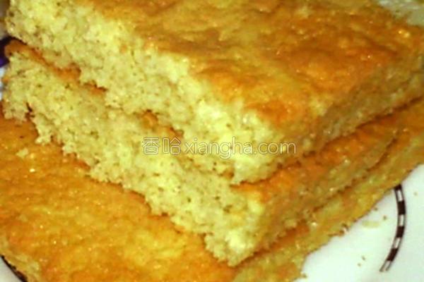 烤碗蛋糕的做法