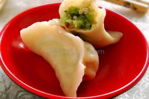 蛇豆香菇肉饺的做法