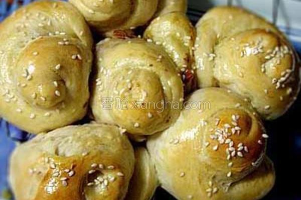 全麦皇冠面包的做法