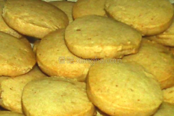 芝麻花生饼干的做法