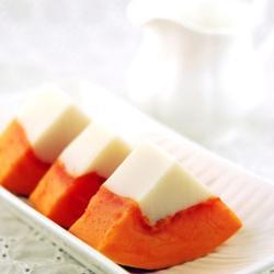 木瓜杏仁冻的做法[图]