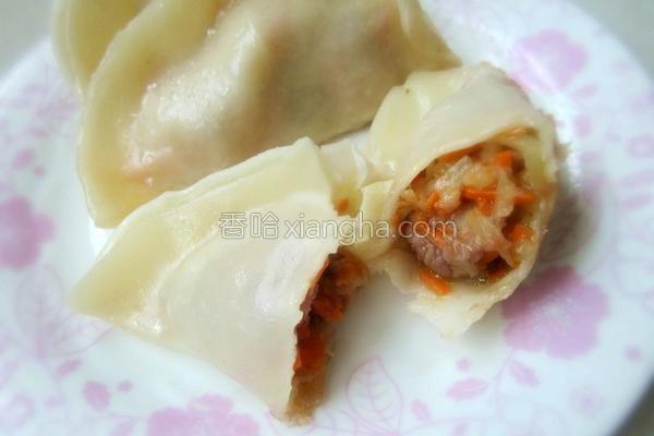 莴笋牛肉饺子的做法