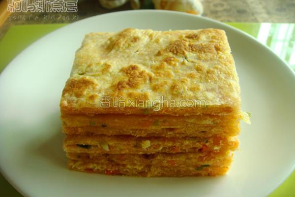 椒盐葱油饼的做法