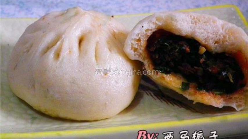 海米韭菜肉包