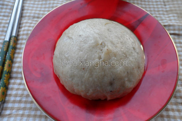 杂豆馒头的做法