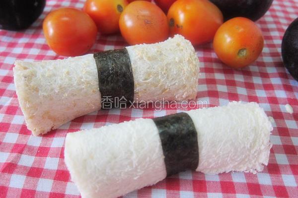 蔬菜沙拉吐司卷
