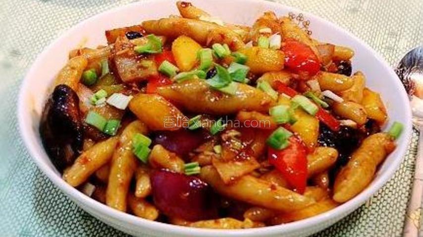 鱼香炒薯仔面