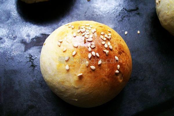 芝麻小面包的做法