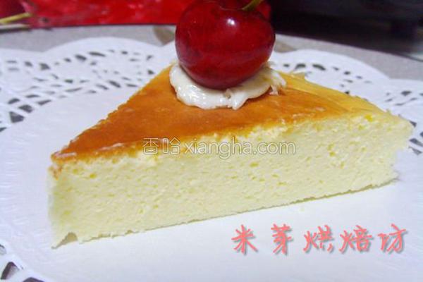 苏法芝士蛋糕的做法