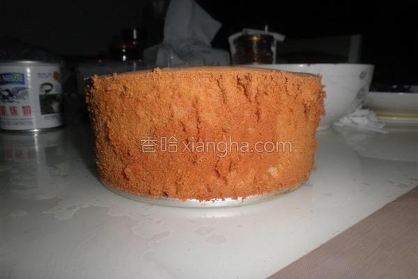 红糖戚风蛋糕的做法