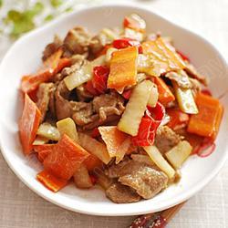 泡菜炒鸭肉的做法[图]