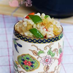 鳕鱼拌高粱饭的做法[图]