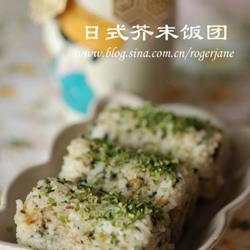 日式芥末飯團的做法[圖]