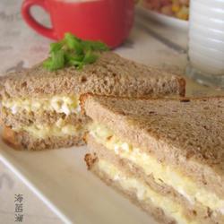 土豆苹果沙拉三明治的做法[图]