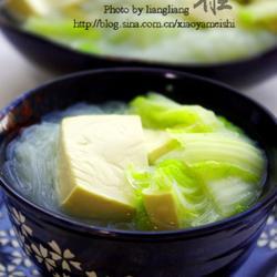 粉丝豆腐汤的做法[图]