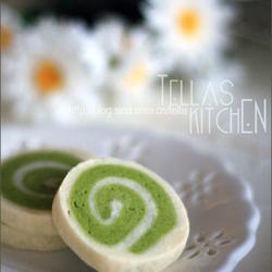 绿茶双色卷饼干的做法[图]